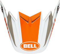 Bell Replacement Moto-9 Flex Peak (Division M/G White/Orange/Sand)