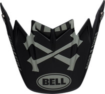 Bell Replacement Moto-9 Flex Peak (Fasthouse WRWF M/G Black/White/Gray)