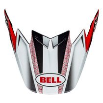 Bell Replacement Moto-9 Flex Peak (Hound Red/White/Black)