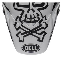 Bell Replacement Moto-9 Flex Peak (WRWF Wht/Blk/Red)