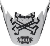 Bell Replacement Moto-9 Flex Peak (WRWF Wht/Blk/Red)