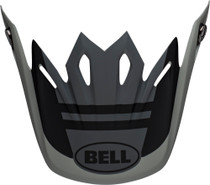 Bell Replacement Moto-9 Mips Peak (Prophecy  Matte Gray/Black/White)
