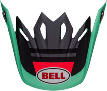 Bell Replacement Moto-9 Mips Peak (Prophecy Matte Green/Infrared/Black)