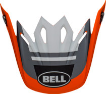 Bell Replacement Moto-9 Mips Peak (Prophecy Matte Orange/Black/Gray)