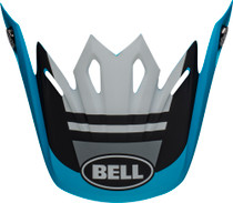 Bell Replacement Moto-9 Mips Peak (Prophecy Matte White/Black/Blue)