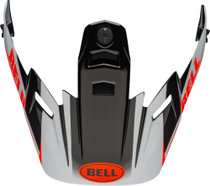 Bell Replacement MX-9 Adventure Peak (Dash Black/White/Orange)