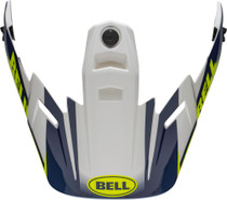 Bell Replacement MX-9 Adventure Peak (Dash White/Blue/Hi Viz)
