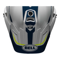 Bell Replacement MX-9 Adventure Peak (Torch White/Blue/Yell)