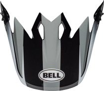 Bell Replacement MX-9 Peak (Dash Gray/Black/White)