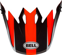 Bell Replacement MX-9 Peak (Dash Orange/Black)