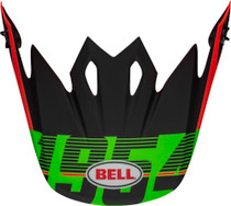 Bell Replacement MX-9 Peak (Strike  Matte Infrared/Green/Black)