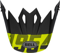 Bell Replacement MX-9 Peak (Strike Matte Gray/Black/Hi Viz)