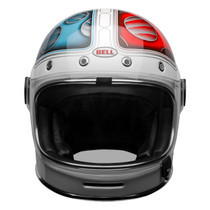 Bell Cruiser 2020.2 Bullitt DLX Helmet (Barracuda White/Red/Blue)