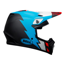 Bell MX 2021 MX-9 Mips Adult Helmet (Strike Matte Black/Blue/White)
