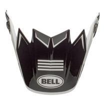 Bell Replacement Moto-9 Flex Peak (Fasthouse Newhall White/Black)