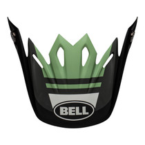 Bell Replacement Moto-9 Mips Peak (Prophecy Matte Black/Dark Green)