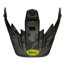Bell Replacement MX-9 Adventure Peak (Stealth Matte Camo Black/Hi-Viz)