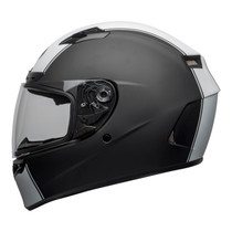 Bell Street 2021 Qualifier DLX Mips Adult Helmet (Rally Matte Black/White)