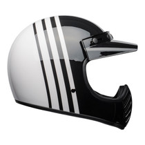 Bell Cruiser 2021 Moto 3 Adult Helmet (Reverb White/Black)