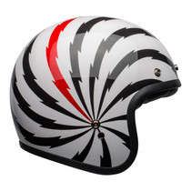 Bell Cruiser 2021 Custom 500 SE Adult Helmet (Vertigo White/Black/Red)