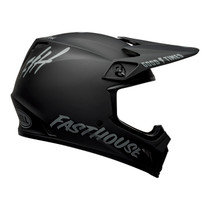 Bell MX 2021.1 MX-9 Mips Adult Helmet (Fasthouse M/Black/Grey)