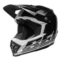 Bell MX 2022 Moto-9 Mips Youth Helmet (Louver Black/White)