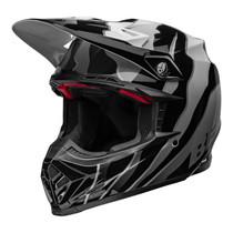 Bell MX 2022 Moto-9S Flex Adult Helmet (Claw Black/White)