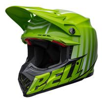 Bell MX 2022 Moto-9S Flex Adult Helmet (Sprint M/G Green/Black)