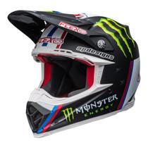 Bell MX 2022 Moto-9S Flex Adult Helmet (Tomac Replica Matte Black/White)