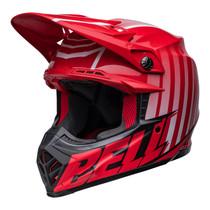 Bell MX 2022 Moto-9S Flex Adult Helmet (Sprint M/G Red/Black)