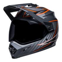 Bell MX 2022 MX-9 Adventure Mips Adult Helmet (Dalton Black/Orange)