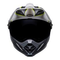 Bell MX 2022 MX-9 Adventure Mips Adult Helmet (Dalton White/Hi-Viz Yellow)