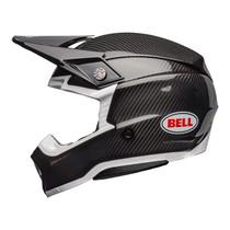 Bell MX 2022 Moto-10 Spherical Mips Adult Helmet (Gloss Black Carbon/White)