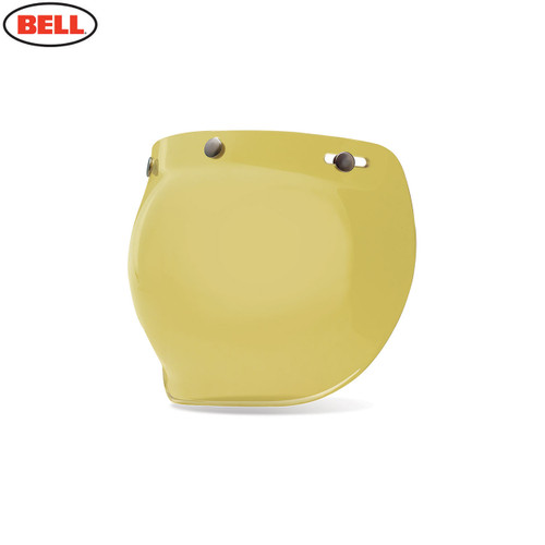 Bell Replacement Custom 500 3-Snap Bubble Visor Yellow