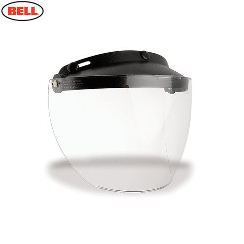 Bell Replacement Custom 500 MXL 3-Snap Flip Visor Clear