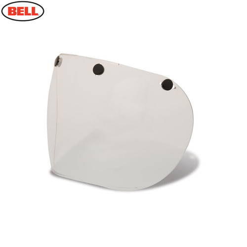 Bell Replacement Custom 500 Retro 3-Snap Fixed Visor Clear