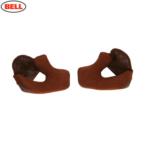 Bell Replacement Bullitt Cheek Pads (Brown)