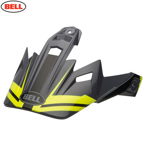 Bell Replacement MX-9 Adventure Peak Barricade Matte Hi-Viz