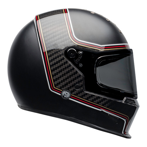 Bell 2020 Cruiser Eliminator Carbon Adult Helmet (RSD The Charge Helmet M/G Black)