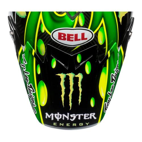Bell Replacement Moto 9 Flex Peak (MC Monster Green/Black)