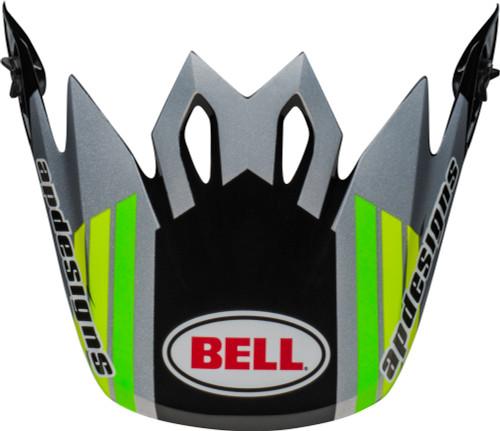 Bell Replacement MX-9 Peak (PC 2020 Black/Green)