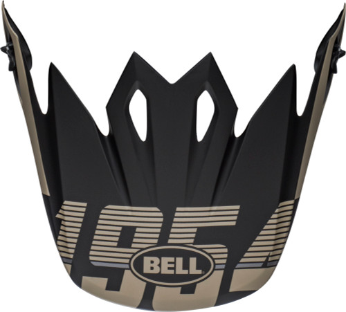 Bell Replacement MX-9 Peak (Strike Matte Khaki/Black)