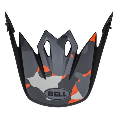Bell Replacement MX-9 Peak Presence (Orange Camo)