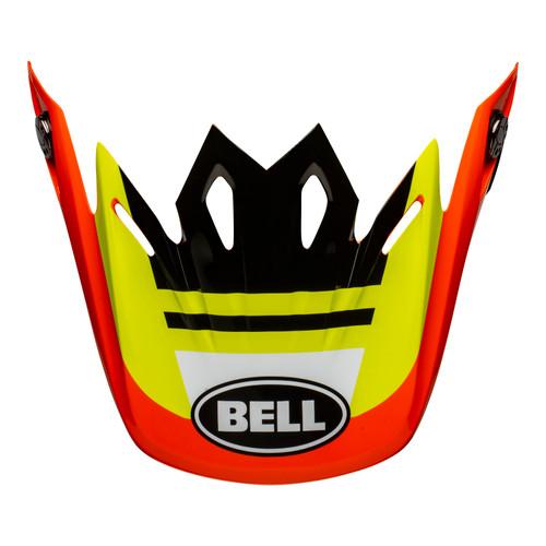 Bell Replacement Moto-9 Mips Peak (Prophecy Yellow/Orange/Black)
