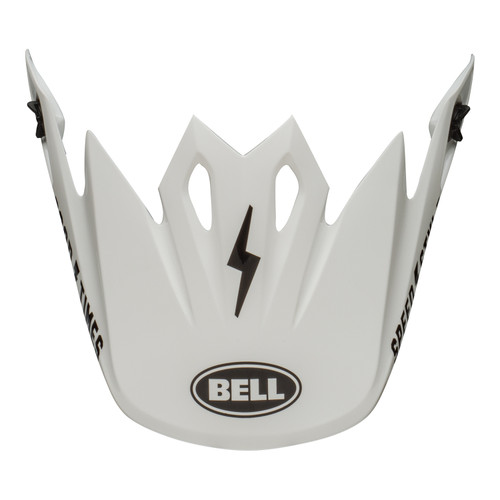 Bell Replacement MX-9 Mips Peak (Fasthouse White/Black)