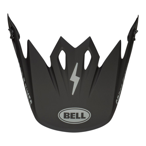 Bell Replacement MX-9 Mips Peak (Fasthouse Matte Black/Grey)