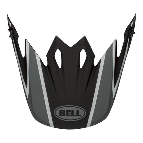 Bell Replacement MX-9 Mips Peak (Twitch Replica Matte Black/Grey/White)