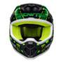 Bell 2020 MX-9 MIPS Adult Helmet (Mcgrath Showtime Black/Green)