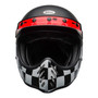 Bell 2020 Cruiser Moto 3 Adult Helmet (Fasthouse Checkers M/G Black/White/Red)