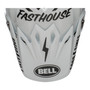 Bell Replacement Moto 9 Peak (Fasthouse White/Black)